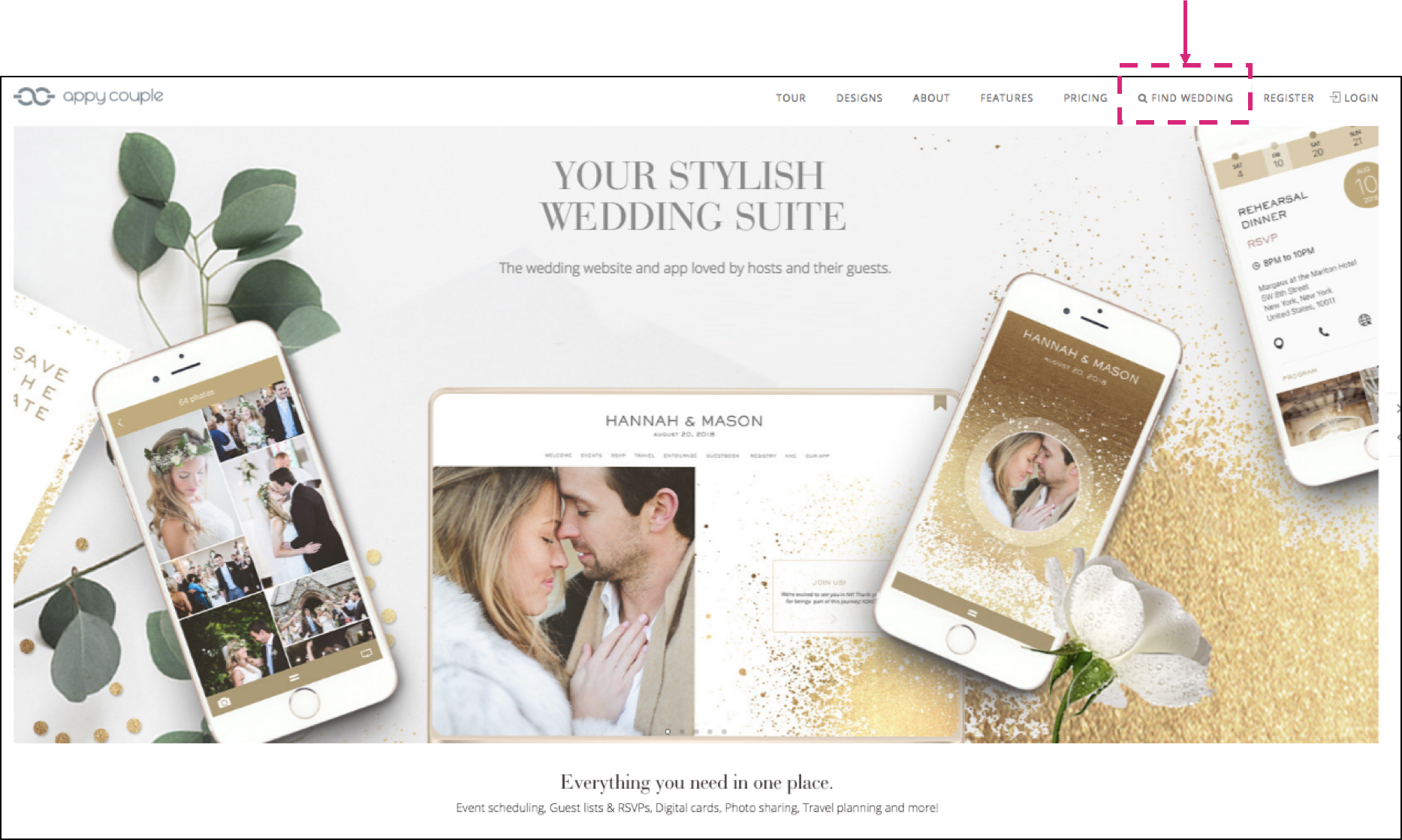 Find A Couple S Wedding Website.Jooma Webdesign